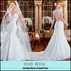 2015 Vestido de Noiva Latest lace alibaba mermaid high priced wedding dress bridal