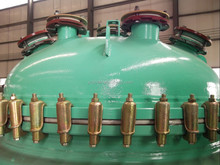 hot sale chemical reaction vessel for industry production capacity 50-40000L