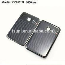 5000mah advanced power bank solar portable for laptop/tablet/mobile phone