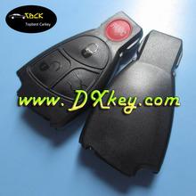 High quality 3+1 buttons smart car keys NO LOGO for Mercedes benz key case Mercedes key
