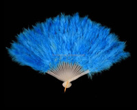 Factory supply Cheap plastic blue green pink yellow chinese fan dance costume