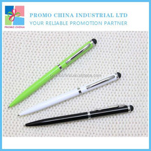 Hot Metal Plastic Hotel Ball Pen Custom Hotel Ball Pen With Stylus