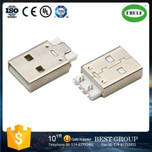 FBUSBA1-112 5 pin usb connector usb flash drive parts welding cable connector parts(FBELE)