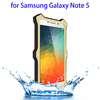 mobile phone accessories plastic bags waterproof case for galaxy note 5