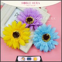 Wholesale plastic colorful gebera flowers crocodile hair clips