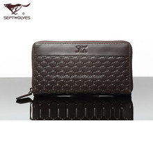 Casual Business Leather Men's zipper wallet