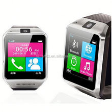 """bluetooth smart watch phone 1.54"""" touch screen gsm support sim tf camera for android cell phone sync sms phone book"""
