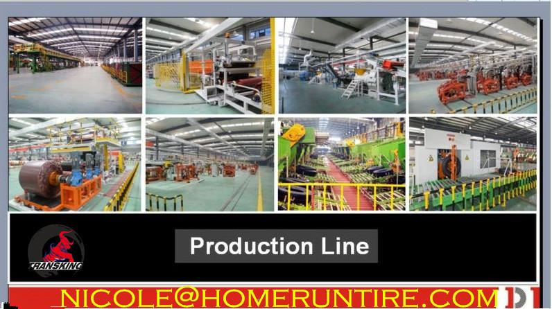 TRANSKING Tire production line workshop