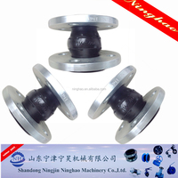 single ball flexible rubber joint/rubber expansion joint price/good quality rubber joint