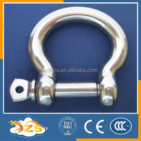 SIZE 4MM stainless steel 304 european BOW shape shackle lifting shackle