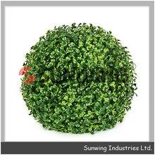 artificiale palla topiaria bosso palla erba pianta di plastica