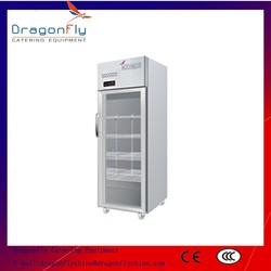 CE Approved Upright Commercial Supermarket Showcase Refrigerator