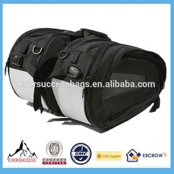 2015 New Design Bag Black Most Promotiomal Motorcycle Saddle Bags