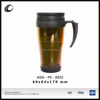 oem logo printing cup tableware water drinkware drinking plastic cup with lid and handle wholesale plastic cups for drinking