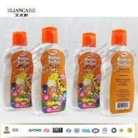 200ml natural massage baby oil in pet bottle