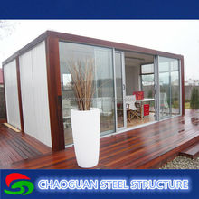 prefabricated 40ft container home made in china storage container house
