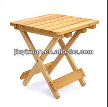 Kids wooden folding table/ kids picnic tables for outdoor/foldable table