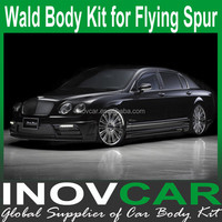 Flying Spur WALD Style Body Kit (Front Bupmer, Side SKirt, Rear Bumper)for Bentley Flying Spur Body Kits
