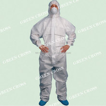 2015 hot sale CrossGard 1500 Multi Ply SMS Fabric strong liquid and particle barrier Coverall