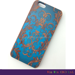 Newly Beautiful Printing Retro PC phone Case For iPhone wood mobile phone case