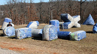 Used Paintball Maker China/Inflatable Paintball Bunkers/Inflatable Paintball Field for Sale