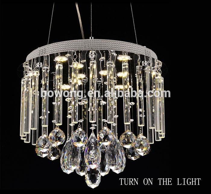 Lustre Para A Sala De Estar ~ Moderna de cristal redonda lustre luminária para a sala de estar