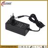 RCM approvals Eureapean fixed plug adaptor universal 12v 3000mA power adapter