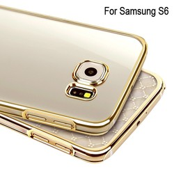 100% in stock!2015 New Arrival fancy clear hard pc phone case covers for samsung galaxy s6,case cover for galaxy s6 case