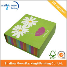 Unique design foldable cosmetic packaging boxes