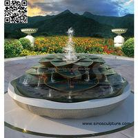 large bronze fountain,custom casting brass fountain