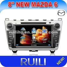 8 inch Car GPS for mazda 6 with TV/AM/FM/RDS