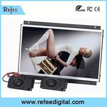 Media Player and Android Solution advertising display wall mount open frame lcd display