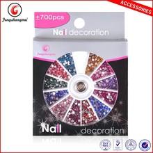 1.5mm mix colors rhinestone decoration 700pcs