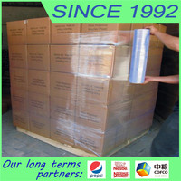 pallet packing film usage lldpe stretch film