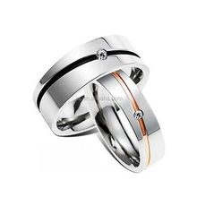 Customized logo with name wedding ring.gay wedding ring with excellent quality