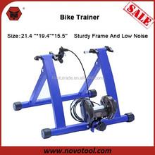 China Manufacrturer High Quality 21.4 ''*19.4''*15.5''cm Low Noise Sturdy Frame Steel Magnetic Indoor Bike Trainer