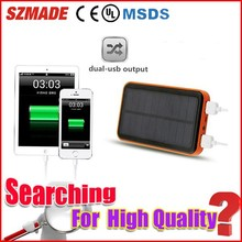 Top selling products in alibaba solar energy power bank for digital camera