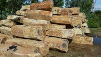 natural basalt column