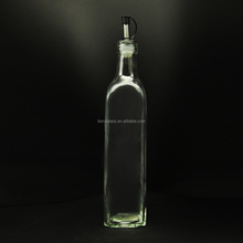 250ml glass cooking olive oil jar,hotsale glass seasoning bottle