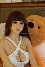 165 cm alta calidad del silicón verdadero sexo muñeca, la sensación verdadera del sexo muñeca con delgado pierna larga made in China