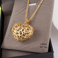 Special Design flash star pendant necklace