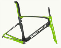 Hotest WORKSWELL T800 Full Carbon Fiber Chinese Road Bike Frame 2016,Road Bicycle Carbon Frame China,Bike Frame Carbon Road