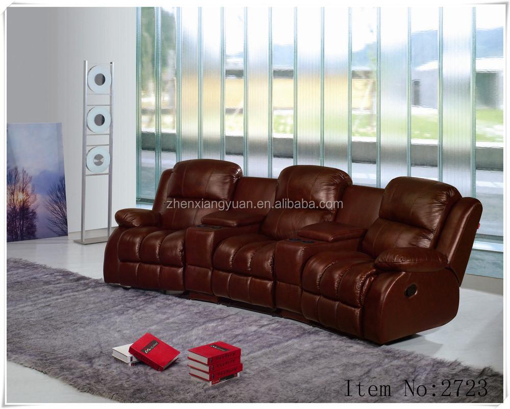 Puissance salon canapé home cinéma fauteuil inclinable en cuir ...