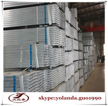 galvanized square steel tube for building/square holoow steel tube/gi tube