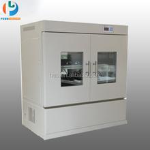 Orbital shaker incubator LCD display