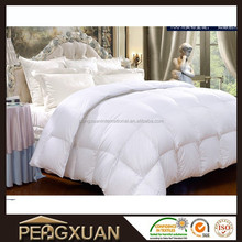 Wholesale fashion hot sell classic white goose feather comforter