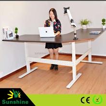 2015 New Design Height Adjustable L Shape Offfice Desk for European Market