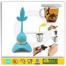 OEM welcome wholesale non toxic unique silicone tea infuser