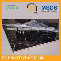 Economic latest china clear plastic protective film