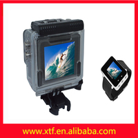 New design 2.0 -inch screen wide Angle watch remote waterproof full hd 1080 p sport camera